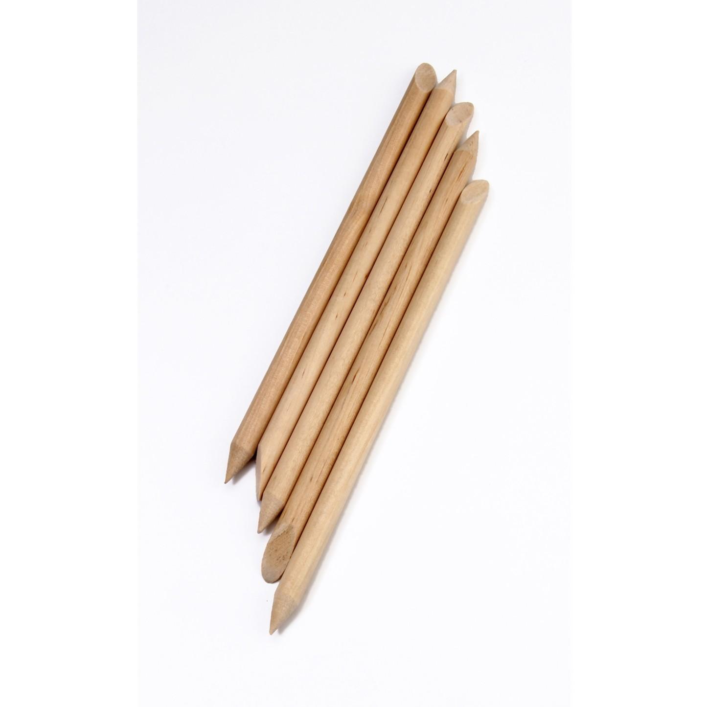 Orangewood Cuticle Sticks (5 pack)