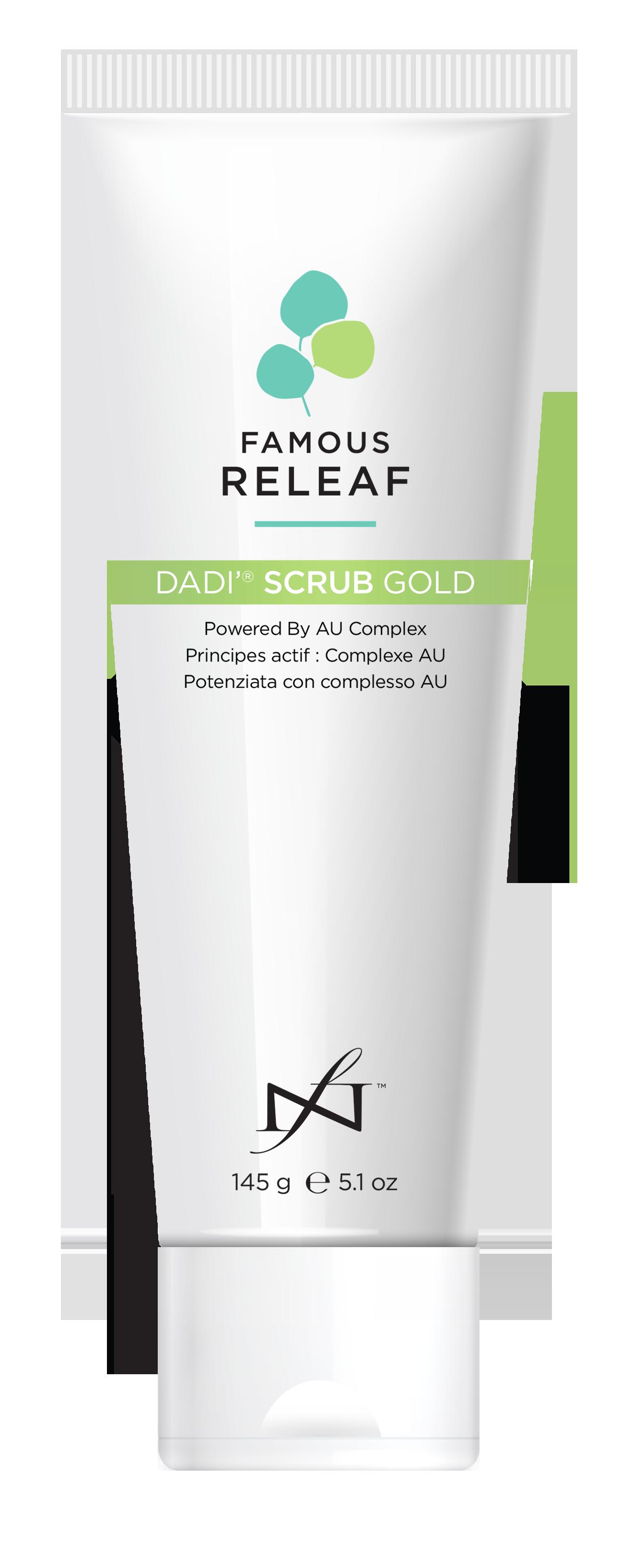 Dadi' Scrub Gold 145g
