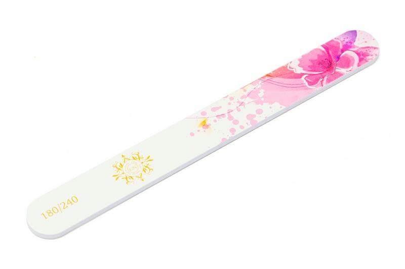 Straight soft product vijl Pink Poppy Splash