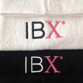 Handdoek met IBX logo